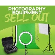 Photography Equipment Sell Out