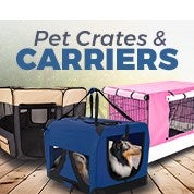 Pet Crates & Carriers