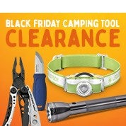 Black Friday Camping Tool Clearance