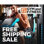 Gym and Fitness Free Shipping Sale