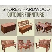Shorea Hardwood Outdoor Furniture Clearance
