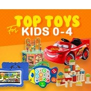 Top Toys For Kids 0-4