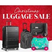 Christmas Luggage Sale