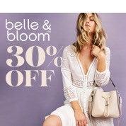 30% Off Belle & Bloom Sale
