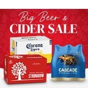 Big Beer & Cider Sale
