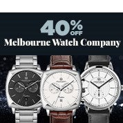 40% Off Melbourne Watch Company