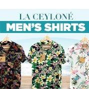 La Ceylone Men's Shirts