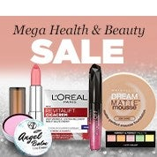 Mega Health & Beauty Sale
