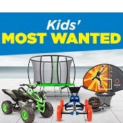 Kids' Most Wanted
