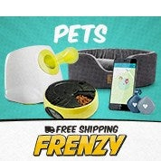 Free Shipping Frenzy: Pets