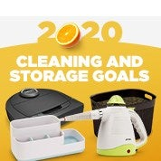 2020: Cleaning & Storage Goals