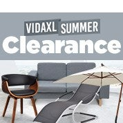 VidaXL Summer Clearance