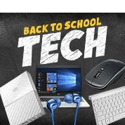 Back to School Sale: Tech