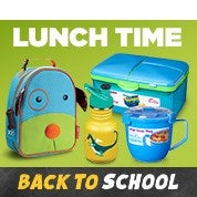 Back to School Sale: Lunch Time