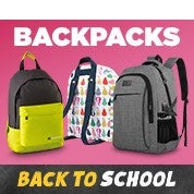 Back to School Sale: Backpacks
