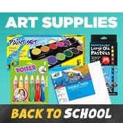 Back to School Sale: Art Supplies