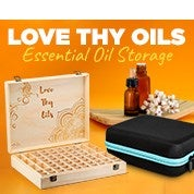 Love Thy Oils Essential Oil Storage