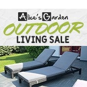 Alice's Garden Outdoor Living Sale