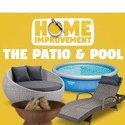Home Improvement Sale: The Patio