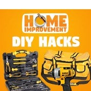 Home Improvement Sale: DIY Hacks