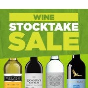 Wine Stocktake Sale