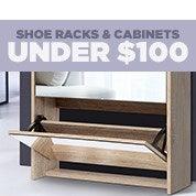 Shoe Racks & Cabinets Under $100