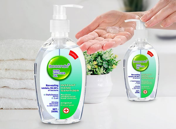 Ibcccndc - 200ml Anti Bacterial Disposable Hand Sanitizer